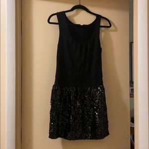 Alythea black sequined party dress!